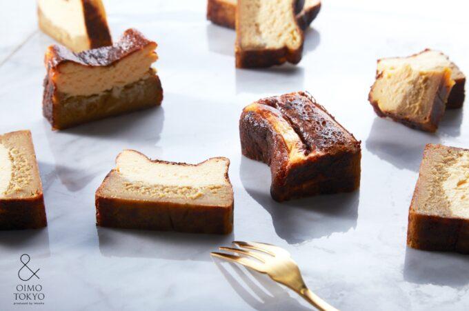 蜜芋バスクチーズケーキ