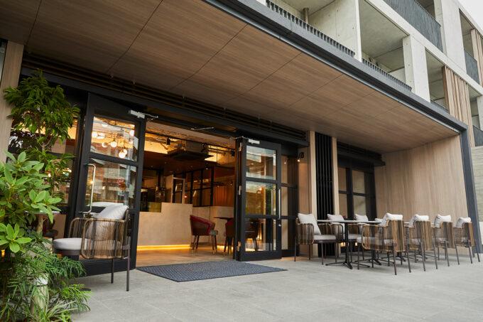 & OIMO TOKYO CAFE外観